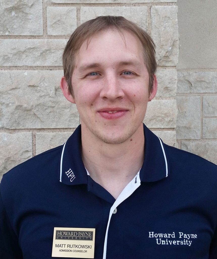 Matt Rutkowski | Howard Payne University