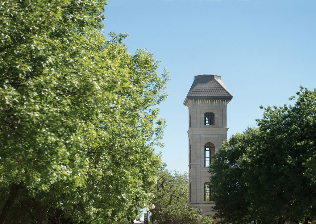 Old Main Tower | Howard Payne University