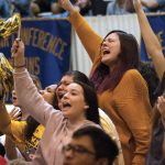Students Cheering | Howard Payne University