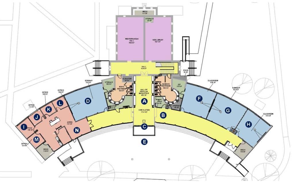 Academy Floor Plan