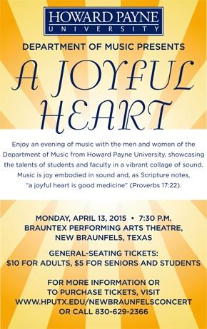 A Joyful Heart poster for web