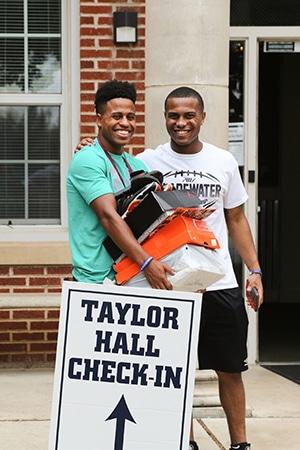 Callaway and FloydJohnson at Taylor Hall for web
