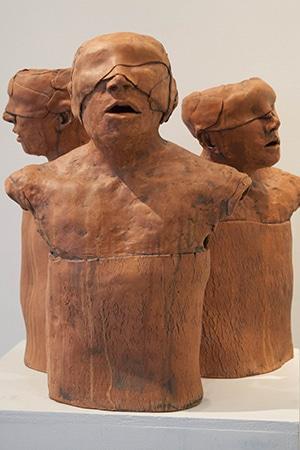 David Hill sculpture
