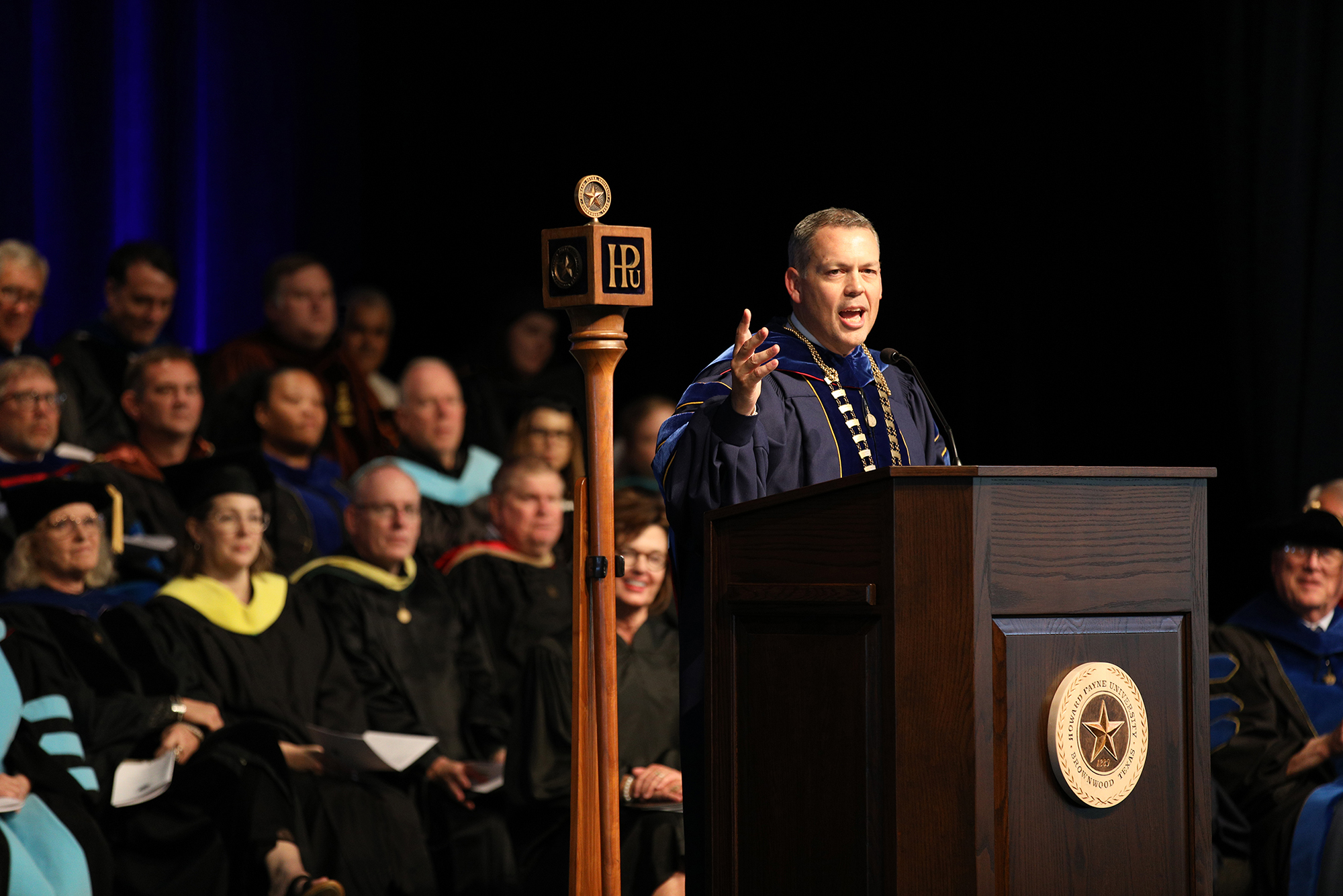 HPU welcomes largest number of new students in more than three decades (2013)</br>HPU celebrates the inauguration of Dr. Cory Hines '97, the institution's 20th president (2019)