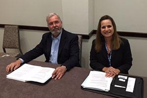 Dr. Julie Welker and Wayne Kraemer for web