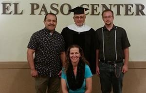 Dr. Nassar and scholarship recipients