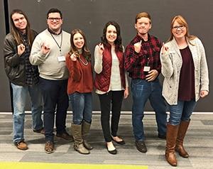 HPU BSM student leaders 2018