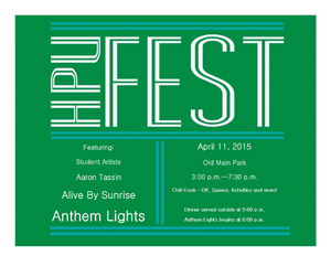 Hpu Fest To Feature Alive By Sunrise And Anthem Lights Howard