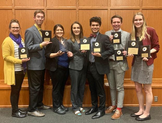 HPU student debate team