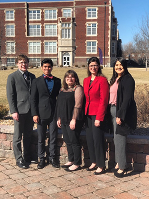 HPU Student Speaker Bureau team photo