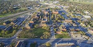 HPU aerial photo