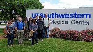 HPU students at UT Southwestern Medical Center