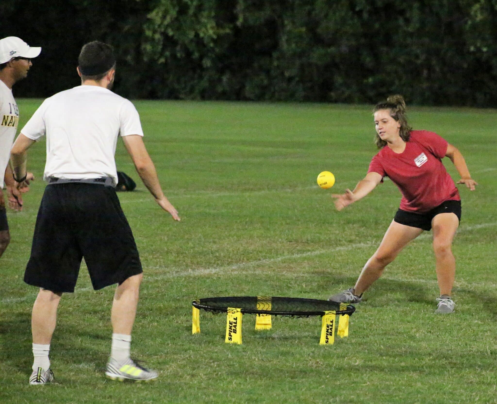 Photo 3 - Spikeball game