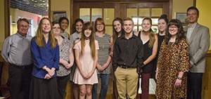 Psi Chi group 2017