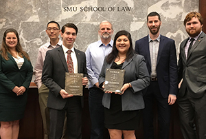 Puente and Sommers with judges 2017