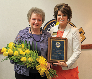 Wilson and Ellis Yellow Rose Award for web