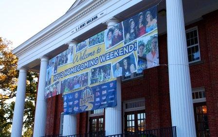 Homecoming 2013 Banner