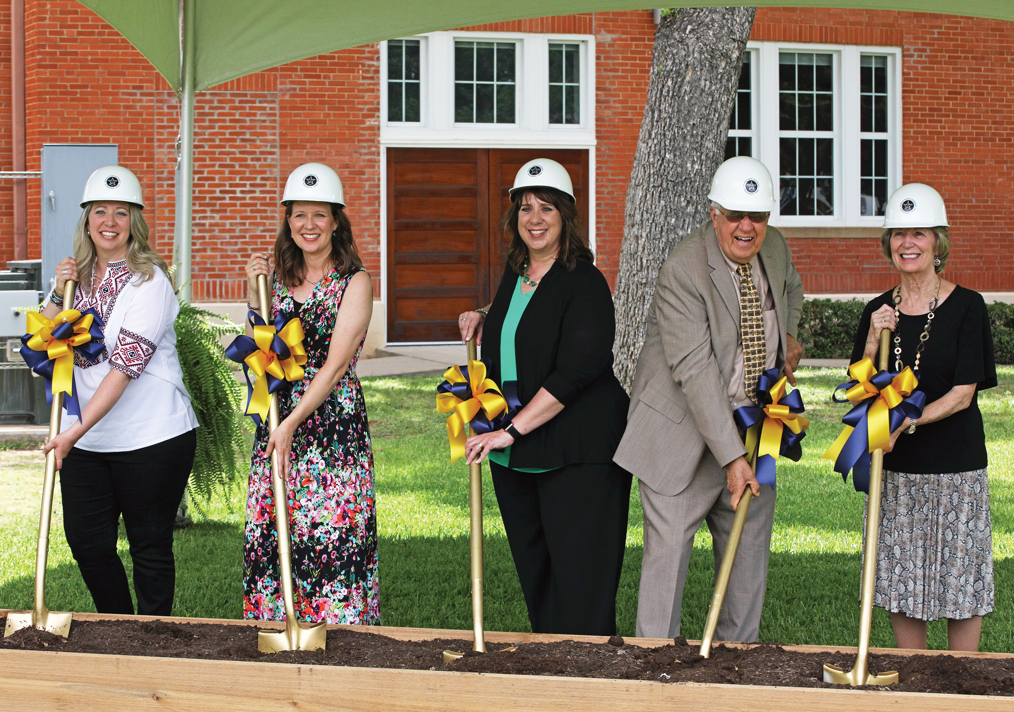 HPU breaks ground for Newbury Family Welcome Center (2020)<br>HPU establishes new visual identity (2021)